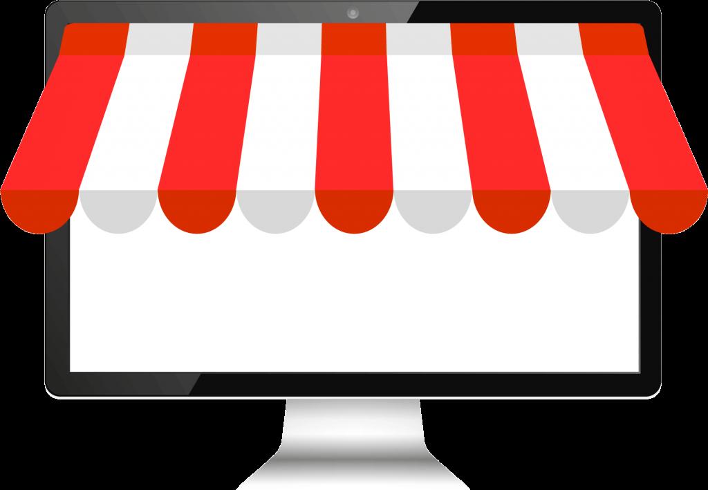 Online Shop für Desktops