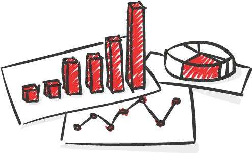 Clip Art mit Online Marketing und Clip Charts