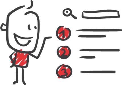 Clip Art für Suchmaschinen Optimierung, SEO aus Freiburg
